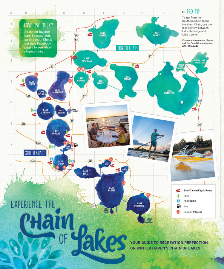 Maps – Paddleboard Winter Haven